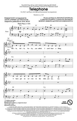 Beyoncé Knowles: Telephone: Women's Choir