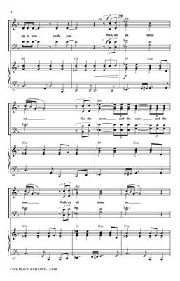 John Lennon: Give Peace a Chance: The Music of John Lennon: Mixed Choir
