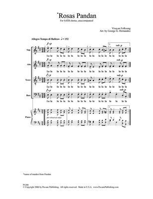 George Hernandez: Rosas Pandan: Mixed Choir