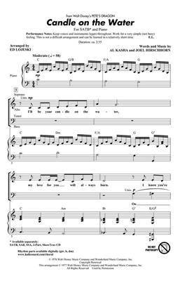 Al Kasha: Candle On The Water (SATB): SATB