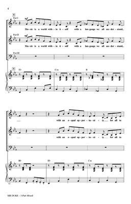 Stevie Wonder: Sir Duke: Mixed Choir