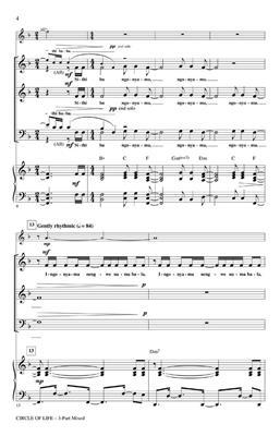Elton John: Circle Of Life (With Nants' Ingonyama) - SAB: Mixed Choir