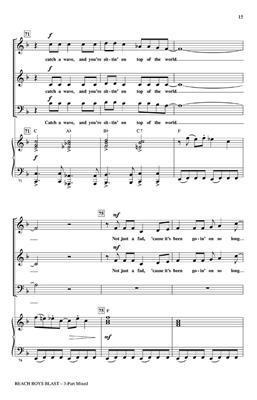 Brian Wilson: Beach Boys Blast: Arr. (John Higgins): 3-Part Choir