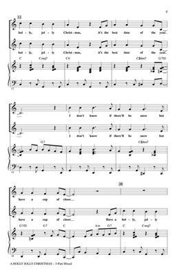 Johnny Marks: A Holly Jolly Christmas: Arr. (Mac Huff): 2-Part Choir
