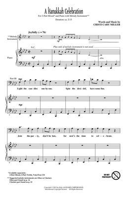 Cristi Cary Miller: A Hanukkah Celebration: 3-Part Choir