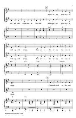 Oscar Hammerstein II: My Favorite Things: Women's Choir