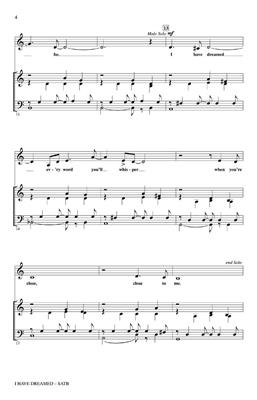 Kirby Shaw: I Have Dreamed (The King And I) (SATB): Mixed Choir