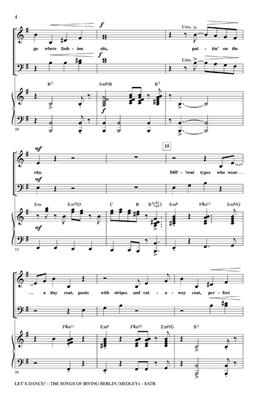 Irving Berlin: Let's Dance! - The Songs of Irving Berlin Medley: Mixed Choir
