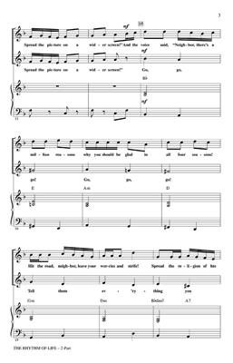 Cy Coleman: The Rhythm Of Life (2-Part): Mixed Choir