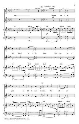 Jonathan Larson: Finale B: Women's Choir