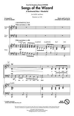 Stephen Schwartz: Songs of the Wizard (from Wicked): Mixed Choir