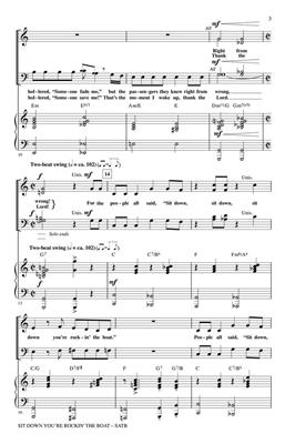 Frank Loesser: Sit Down You're Rockin' the Boat: Arr. (Mark Brymer): SATB