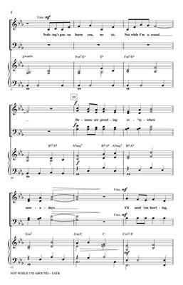 Stephen Sondheim: Not While I'm Around: Mixed Choir