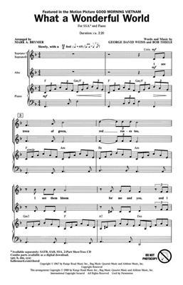 Louis Armstrong: What a wonderful World: Women's Choir
