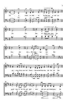 Robert H. Young: Herself A Rose Who Was A Rose: SATB
