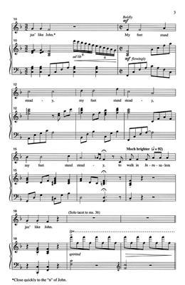 I Wanna Be Ready: Arr. (Rosephanye Powell): Mixed Choir