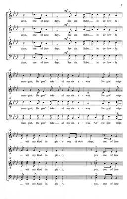 Christmas Spiritual: See that babe: Mixed Choir