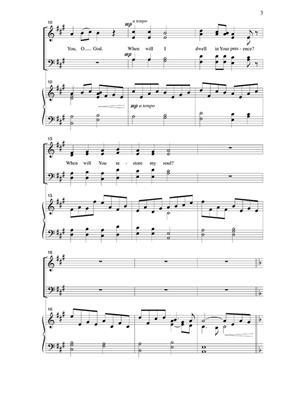 Carolyn Hamlin: I Thir For You, O God: Mixed Choir
