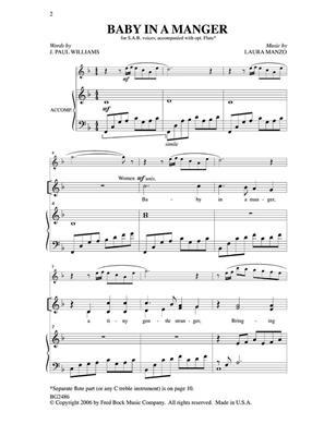 J. Paul Williams: Baby In A Manger: Mixed Choir