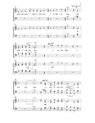 Donald Bailey: My Morning Song: Mixed Choir