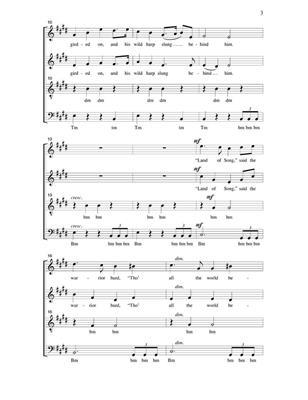 The Minrel Boy: Arr. (Ken Neufeld): Mixed Choir