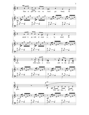 Larry Shackley: A Simple Song For Sebaian: Mixed Choir