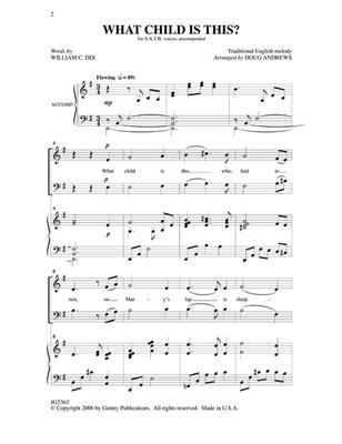 What Child Is This?: Arr. (Doug Andrews): Mixed Choir