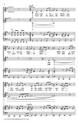 Mariah Carey: All I want for Christmas: Women's Choir