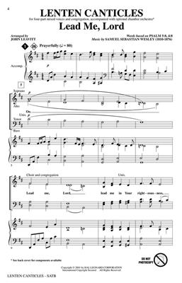 Lenten Canticles: Arr. (John Leavitt): Ensemble