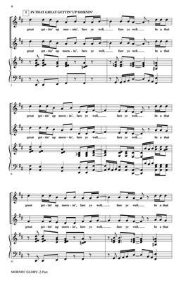 Mornin' Glory: Arr. (Rollo Dilworth): 2-Part Choir