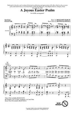 Benjamin Harlan: A Joyous Easter Psalm: SATB