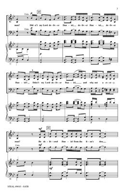 Steal Away: Arr. (Moses Hogan): SATB