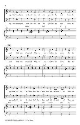 Disney Classics Medley (3-Part Mixed):Alan Billingsley