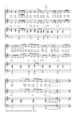 Andrea Bocelli: Time to Say Goodbye (Con Te Partiro): Women's Choir