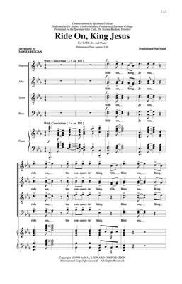 Moses Hogan: Feel the Spirit (2): Mixed Choir