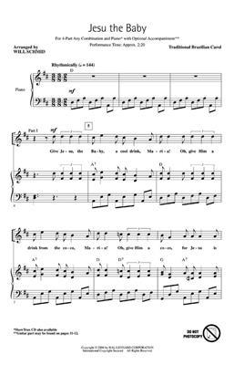 Jesu the Baby: Arr. (Will Schmid): Mixed Choir