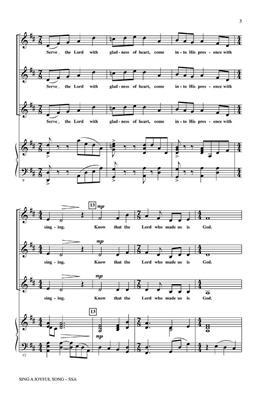 Emily Crocker: Sing a Joyful Song: SSA