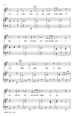 DoneY Gal: Arr. (Shelly Cooper): 2-Part Choir