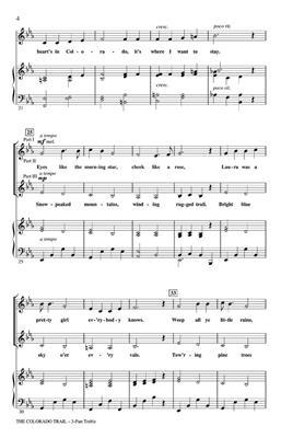 The Colorado Trail: Arr. (Shelly Cooper): 3-Part Choir