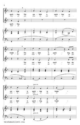 Alessandro Scarlatti: The Sparkling Dawn: Arr. (Audrey Snyder): 2-Part Choir
