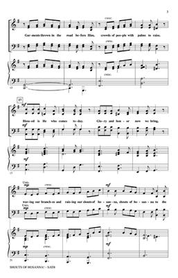 John Purifoy: Shouts of Hosanna!: SATB