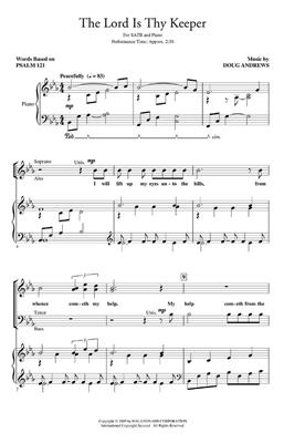 Doug Andrews: The Lord Is Thy Keeper: SATB