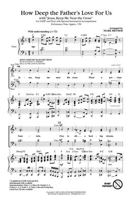 How Deep The Father's Love For Us (SATB): Arr. (Mark Brymer): Mixed Choir
