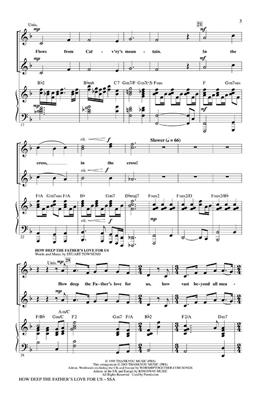 How Deep The Father's Love For Us (SSA): Arr. (Mark Brymer): Mixed Choir