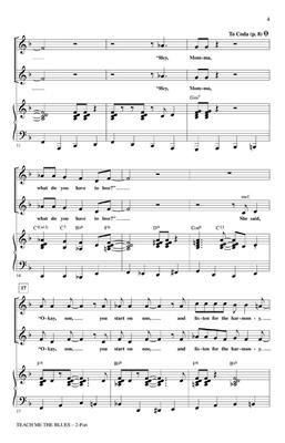 Kirby Shaw: Teach me the Blues: Women's Choir