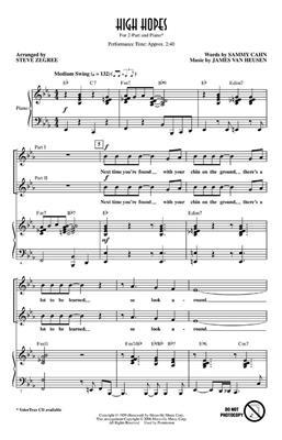 High Hopes: Arr. (Steve Zegree): 2-Part Choir