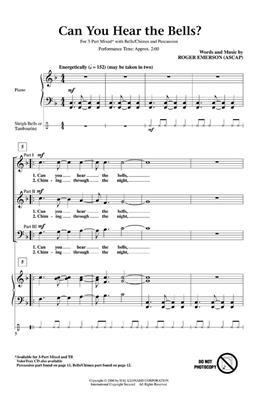 Hal Leonard: Can You Hear the Bells?