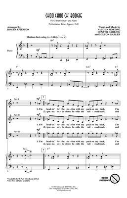 Choo Choo Ch' Boogie: Arr. (Roger Emerson): 3-Part Choir