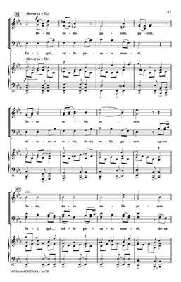 Ed Lojeski: Missa Americana: SATB