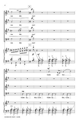 Guide My Feet: Arr. (Henry Leck): SATB
